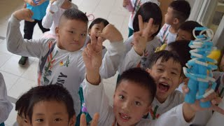 English class in Chinese Primary School