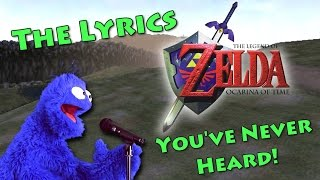 The Songs of Ocarina of Time (With Lyrics)