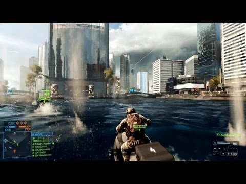 Battlefield 4 - Preview / Vorschau (Gameplay) zum Multiplayer-Modus (Siege of Shanghai)
