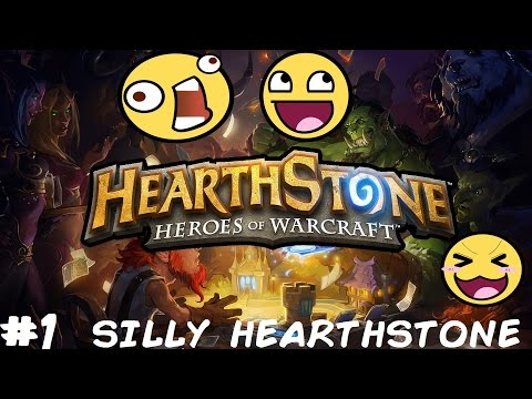 ROBOTS MAKE OUR DECKS?! – Silly Hearthstone! Part 1