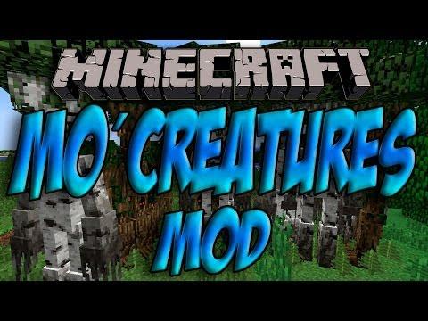 Minecraft 1.7.2 - Como Instalar MO´CREATURES MOD - ESPAÑOL [HD] 1080p
