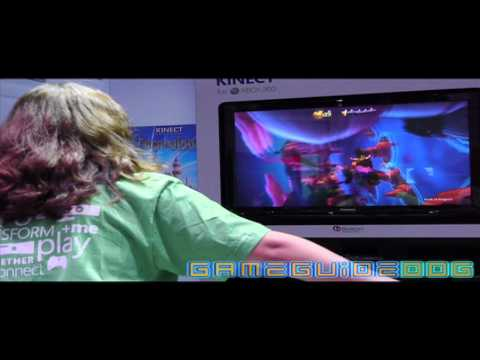 Kinect Disneyland Adventures Gameplay Video HD