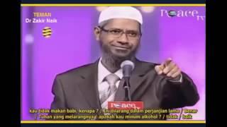Debat Pastur dengan Dr Zakir Naik tentang kebenaran kristen sejati