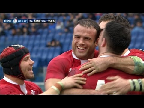 Italy vs Wales Six Nations 2013 | Six Nations Video Highlights - Italy vs Wales Six Nations 2013 | S