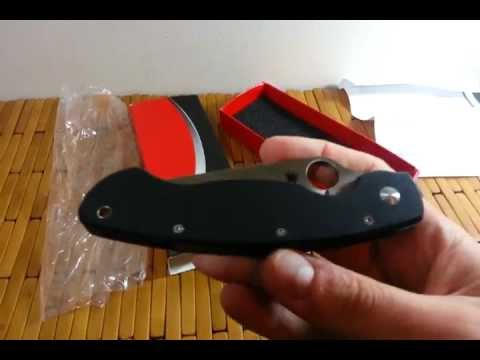 Did I Just Buy a Fake Spyderco Military?