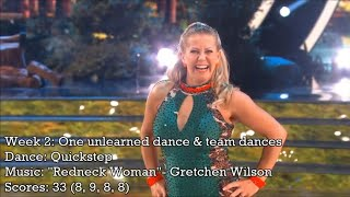 Tonya Harding - All Dancing With The Stars Performances