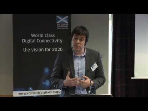 Pioneering Communities Seminar, Aviemore: Robbie McGhee, Scottish Government