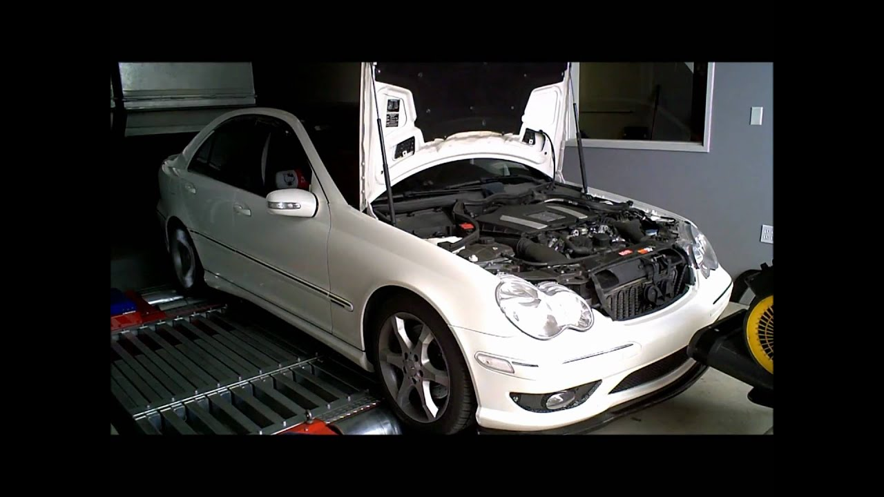 When To Replace Brake Pads >> Mercedes Benz C230 V6 M272: ECU Tune Dyno - YouTube