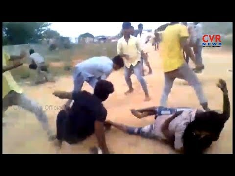College Students Real Fight at College Ground | Kurnool District | Dhone | CVR NEWS