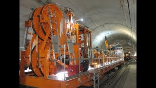 ZECK Catenary Installation Unit BM 954  - Gotthard Tunnel/ Switzerland