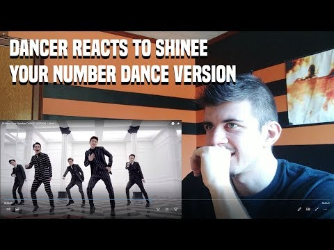 DANCER REACTS TO SHINee Your Number DANCE VERSION