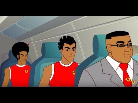 Supa Strikas - Season 2 - Ep 19 - Three's a Crowd - Soccer Adventure Series