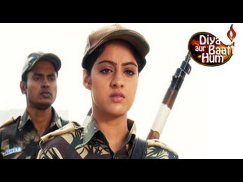 Sandhya PHYSICALLY HITS Goons in Diya Aur Baati Hum 21st february...