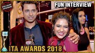 Aditi Sharma FUN Interview with her Husband At ITA Awards 2018 | EXCLUSIVE INTERVIEW