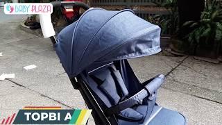 Xe đẩy Topbi A8 có tay kéo Vali của Đức | Baby Plaza