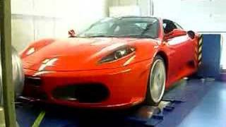 Ferrari F430 Dyno PES Tuning
