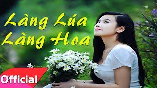 [Karaoke HD] Làng Lúa Làng Hoa - Trung Anh