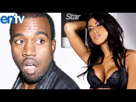 Kanye West CHEATING on Kim Kardashian with Leyla Ghobadi
