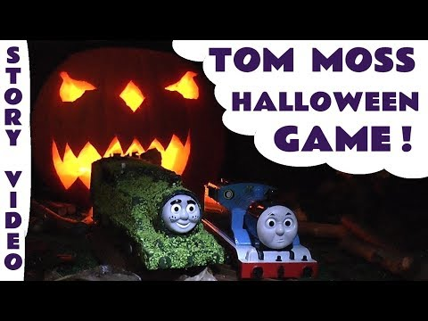 Tom Moss The Prank Engine Thomas And Friends Funny Kids Train Toy Story Halloween Episode 2