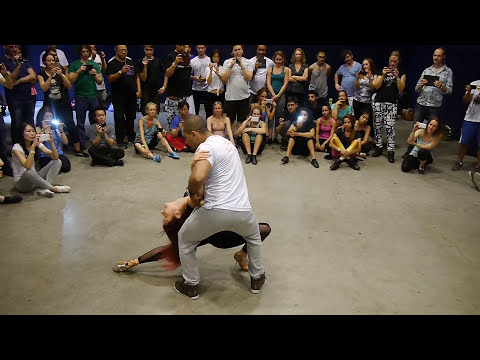 Beautiful Brazilian Zouk Lead/Follow by Kadu and Larissa - Amsterdam Zouk Congress 2015