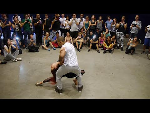 Beautiful Brazilian Zouk Lead/Follow by Kadu and Larissa - Amsterdam Zouk Congress 2015