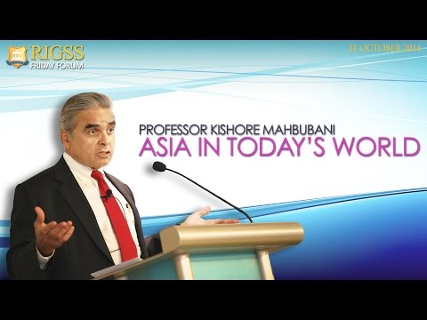 6th Friday Forum 31 Oct 2014 - Professor Kishore Mahbubani  Speaking on