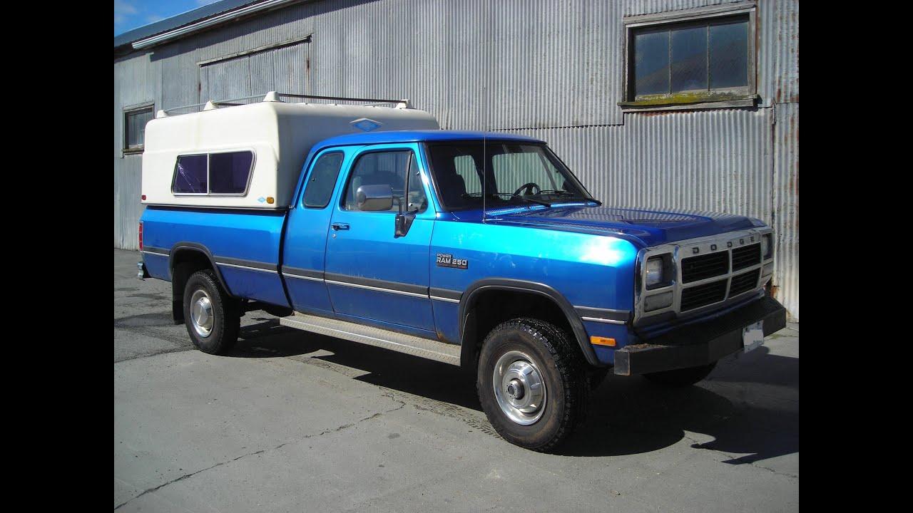 Dodge Ram Pickup Heater Core Replacement 89 - 93 Cummins ...