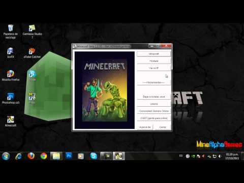 Como descargar. instalar y actualizar minecraft 1.2.5 para windows 7