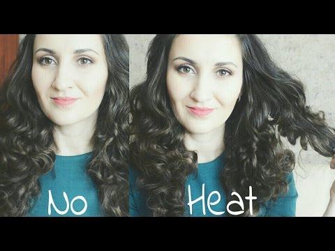 Islak Mendille Dalgalı Saçlar | Isı Kullanmadan Dalgalı Saçlar | No Heat Waves/Curls