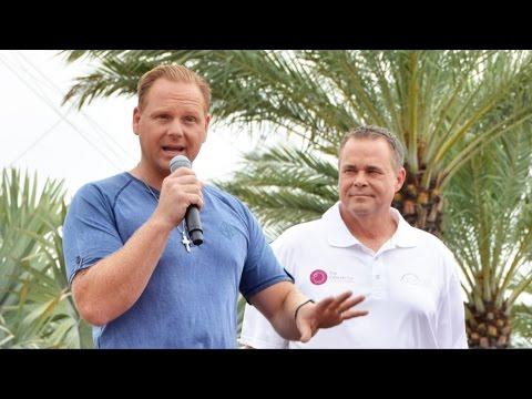 Nik Wallenda talks about stunt walk on Orlando Eye 400ft Tall Wheel at I-Drive 360