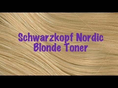 Product Review Schwarzkopf Nordic Blonde Toner