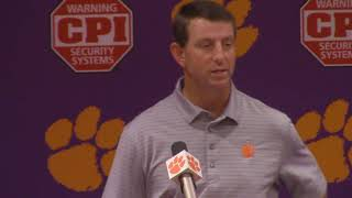 TigerNet: Swinney on Etienne -