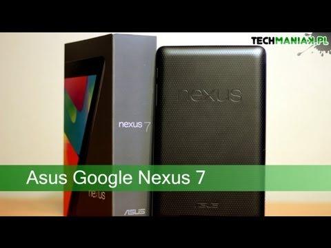 Wideo test i recenzja tabletu Nexus 7 3G   techManiaK.pl