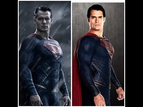 New Superman Suit Detailed Analysis and Comparison - Batman V Superman Dawn of Justice