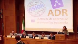 video Roma, 17 dicembre 2014 - Camera dei Deputati. Nuova Auletta dei Gruppi Parlamentari - I Congresso Nazionale sui servizi ADR. La dott.ssa Francesca Tempesta è...