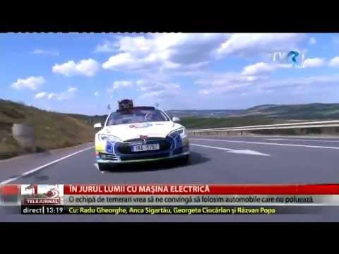80edays on Romanian National TV