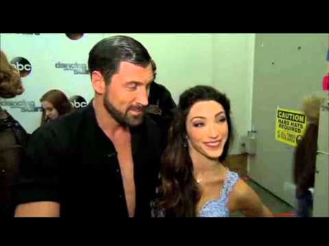 Maks and Meryl - Week 3 On the Red Carpet Interview