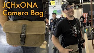 JCH X ONA Camera Bag First Lok - Photokina 2018