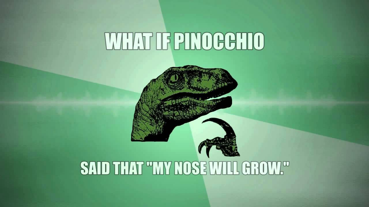 Philosoraptor questions