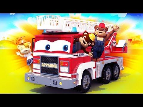 appMink Build a Fire Truck - Fire Trucks Cartoons for kids