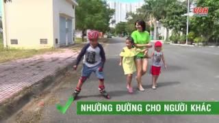 An toàn khi trượt patin, trượt ván - An toàn cho trẻ - Số 11   Manulife Vietnam