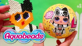 Aquabeads & LOL Surprise Challenge ! Toys and Dolls Fun for Kids Opening Blind Bag Balls