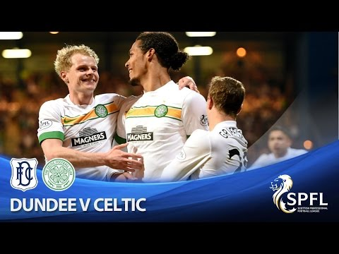 Celtic edge towards title after win at Dundee