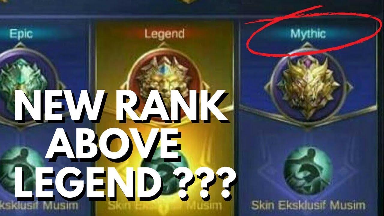 Urutan Rank Elite Mobile Legend