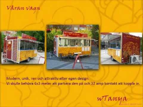 wTanya Bangkok street food, Thai food trailer in Stockholm