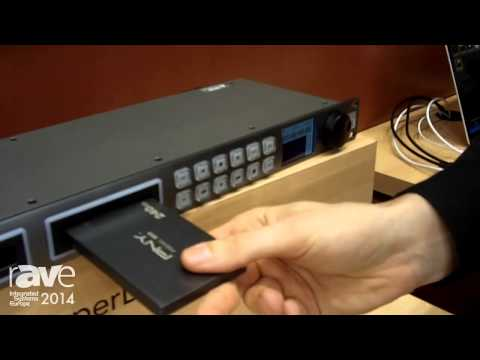 ISE 2014: Blackmagic Design Presents the HyperDeck Studio Pro