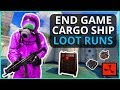 LUCKY RUST CARGO SHIP LOOT RUN FOR THE BEST END GAME LOOT RUST Part 5 mp3