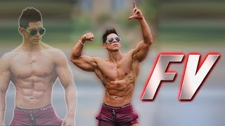FERNANDO VALDEZ WORLD PHOTO SHOOTING ROAD TO MUSCLEMANIA MUSCLE MODEL | REVOLUTION PROJECT