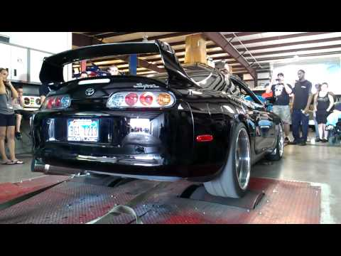 TX2K12 Toyota Supra Dyno 97 Widebody Very Popular Guy