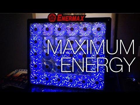 Enermax Suite ft. NO fan PSU. New Liquid Coolers. A Titan Case. and a